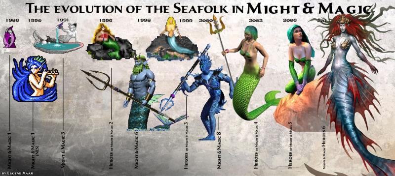 evolúcia - seafolk - heroes