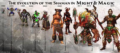 shaman evolution