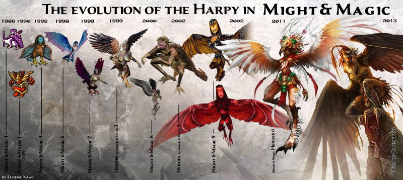 harpy might and magic