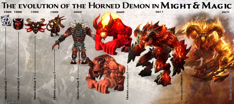 horned deamon might and magic