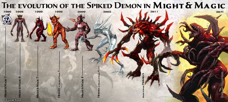 spiked-deamon might and magic