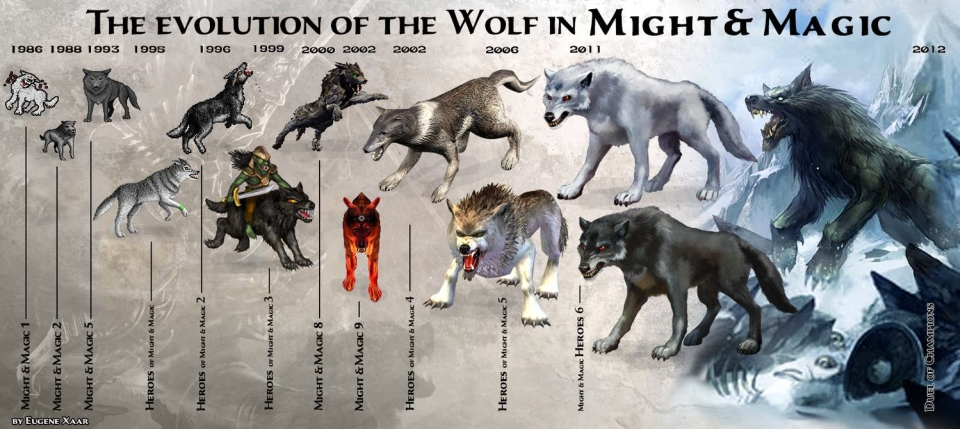 wolf might and magic