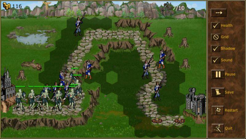 TDMM Heroes: necropolis