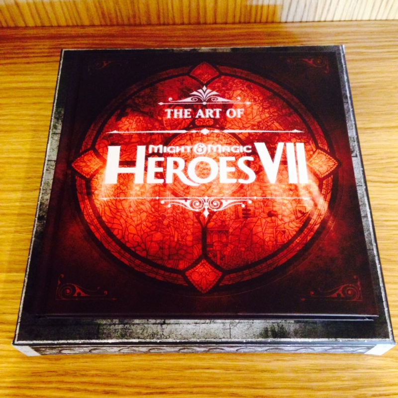 heroes-7-collectors-edition-artbook-closed