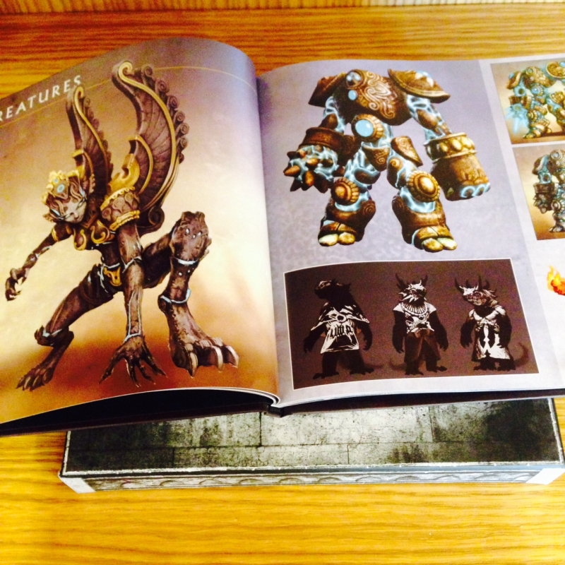 heroes-7-collectors-edition-artbook-opened