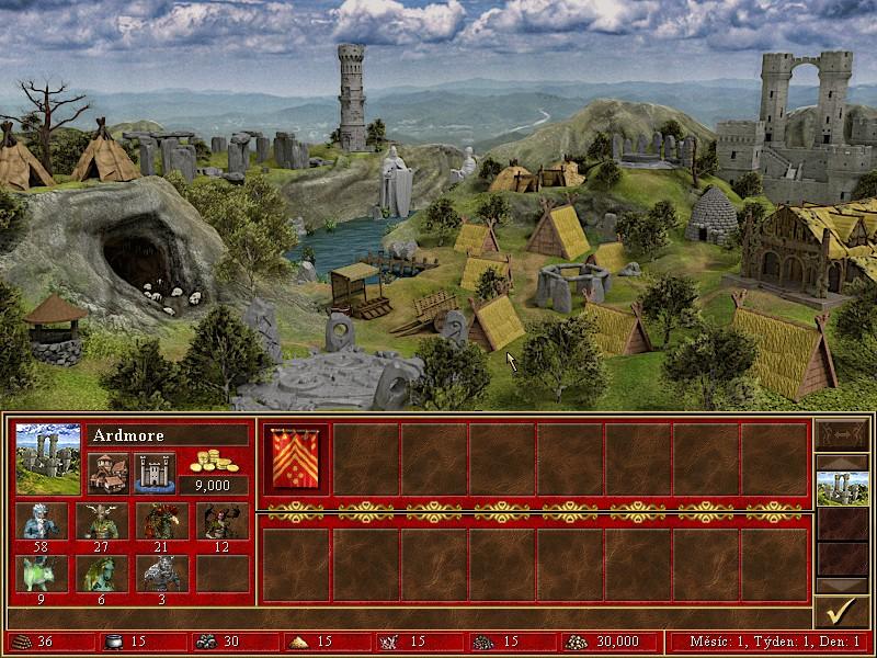 ruins town screen full