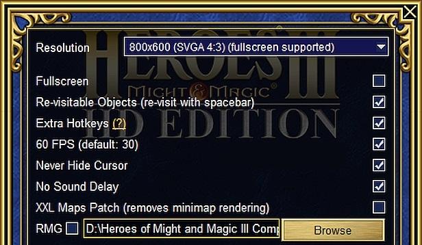 HDE Mod 1 22 (Heroes HD Edition) - Heroes 3 5: Wake of Gods Portal