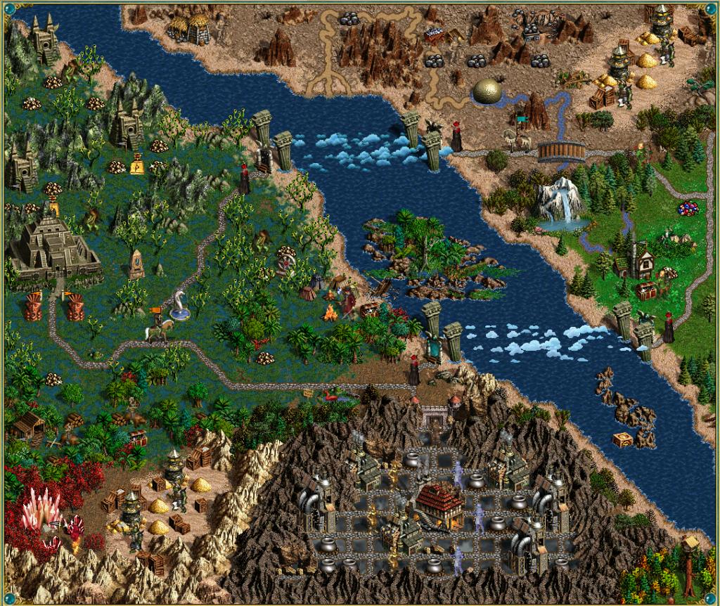 Mental Bridges map