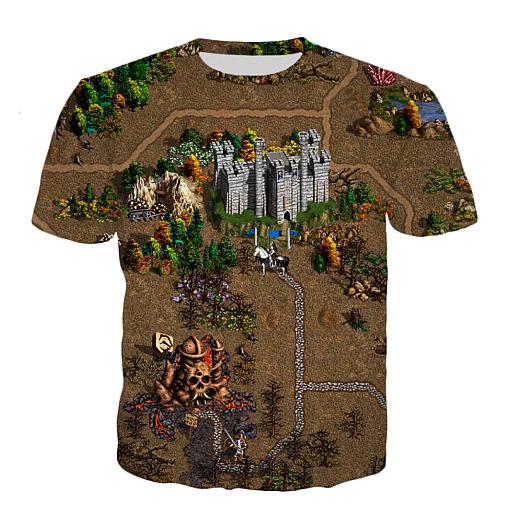 T-shirt - Castle 3D print