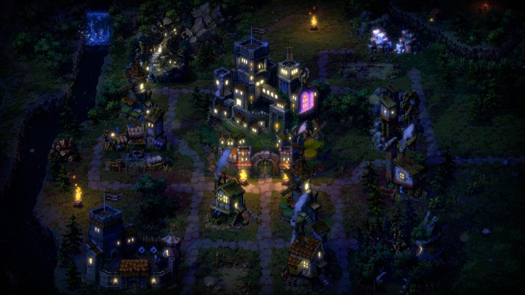 Songs of Conquest adventure map night
