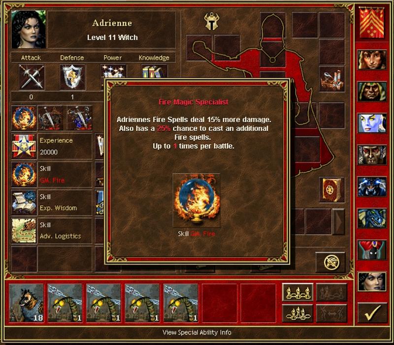 Adreienne - Fire Magic Specialist