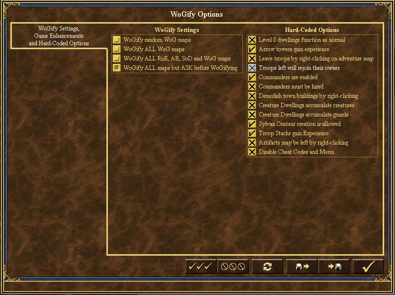 ERA 2.9.12 - WoG Options (clean installation)