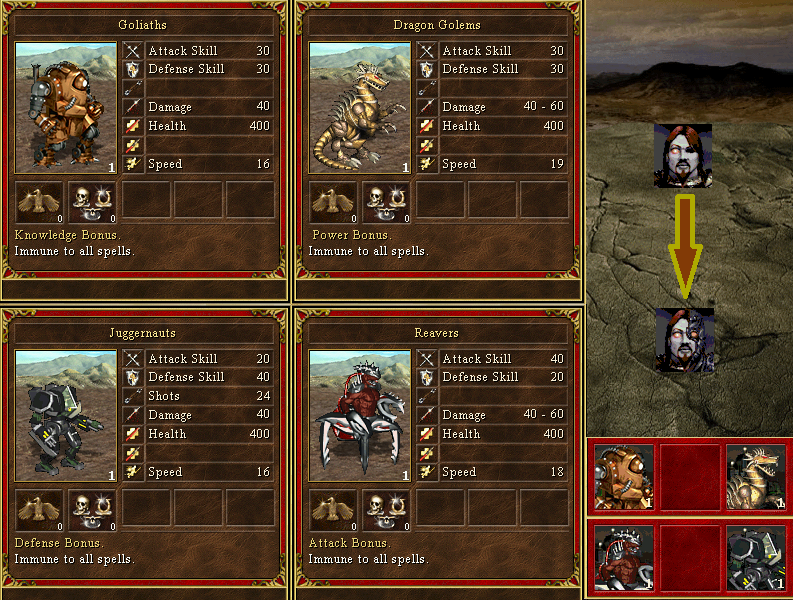 1) New Gods concept and a new The Glory of War campaign