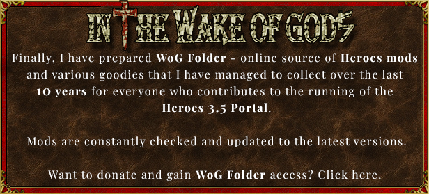 Donate and support Heroes 3.5 Portal