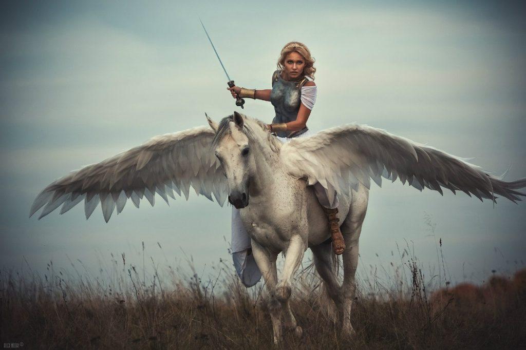 silver pegasus cosplay