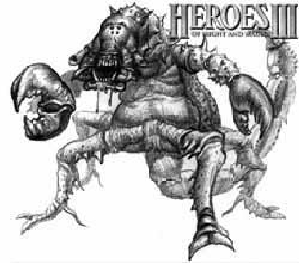 Lobstrosity artwork for Heroes of Might and Magic III